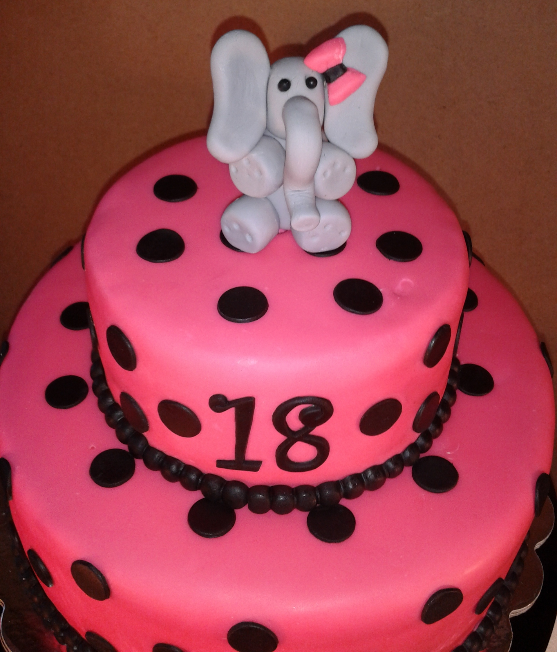 Polka Dot Birthday Cakes Pictures
