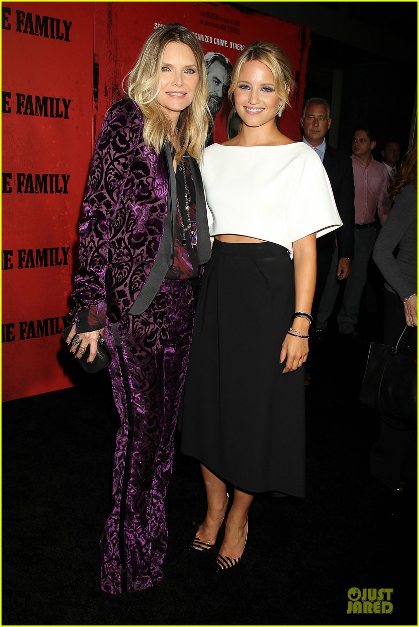 dianna agron michelle pfeiffer the family nyc premiere 23